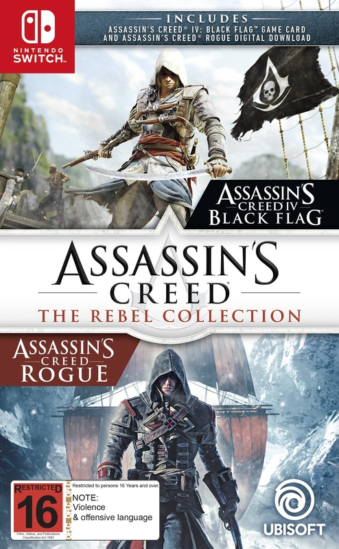 Assassin's Creed: The Rebel Collection for Switch