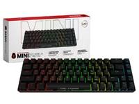Gorilla Gaming Mini Wired Mechanical Keyboard (Black) for PC
