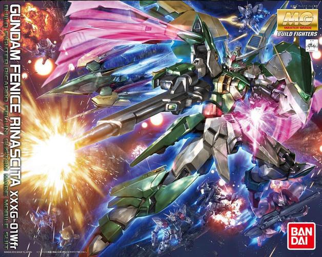 1/100 MGBF: Gundam Fenice Rinascita - Model Kit