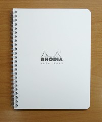 Rhodia Classic Notebook - A5+ White (Lined)