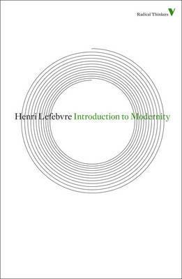 Introduction to Modernity by Henri Lefebvre
