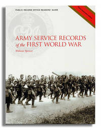 Army Service Records of the First World War by Simon Fowler image