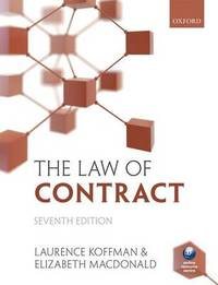 The Law of Contract by Laurence Koffman image