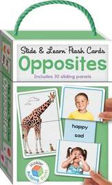 Building Blocks: Slide & Learn Opposites Flash Cards