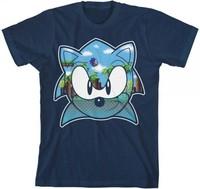Sonic the Hedgehog: Green Hill Zone - Boys T-Shirt (XL)