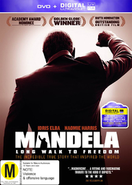 Mandela: Long Walk To Freedom on DVD
