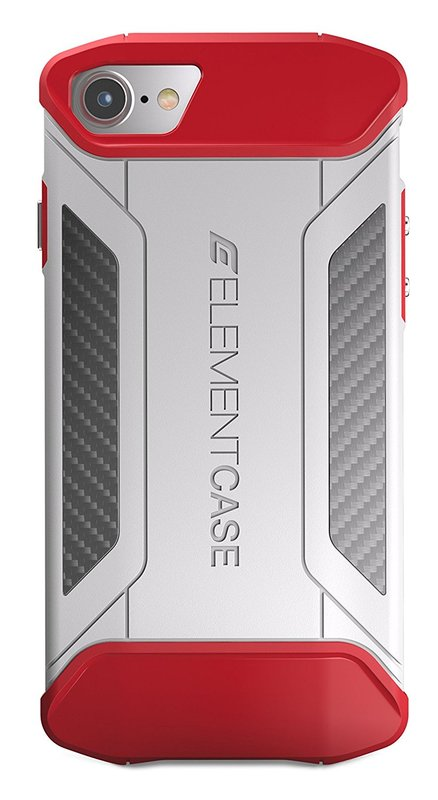 Element: CFX Reinforced Case - For iPhone 7 (White/Red)