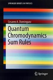 Quantum Chromodynamics Sum Rules by Cesareo A. Dominguez image