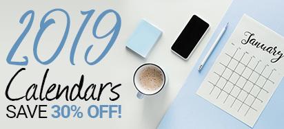 30% off Calendars