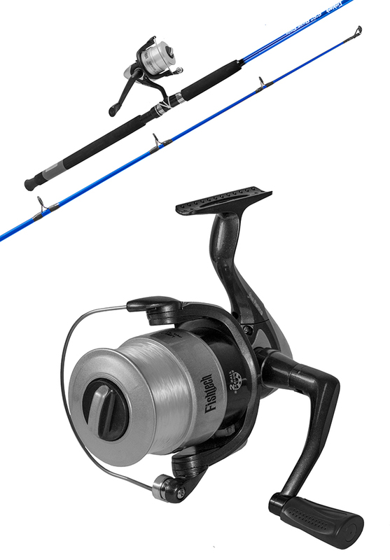 Fishtech 6ft 6in Boat Spin Combo