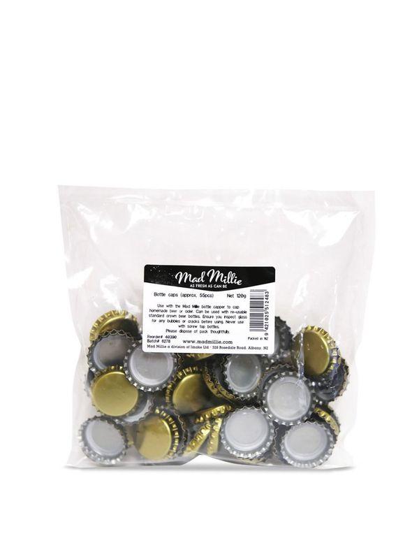 Mad Millie: Bottle Caps (55pk)