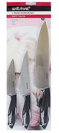 Wiltshire - Soft Touch Knife Set (3-Piece)