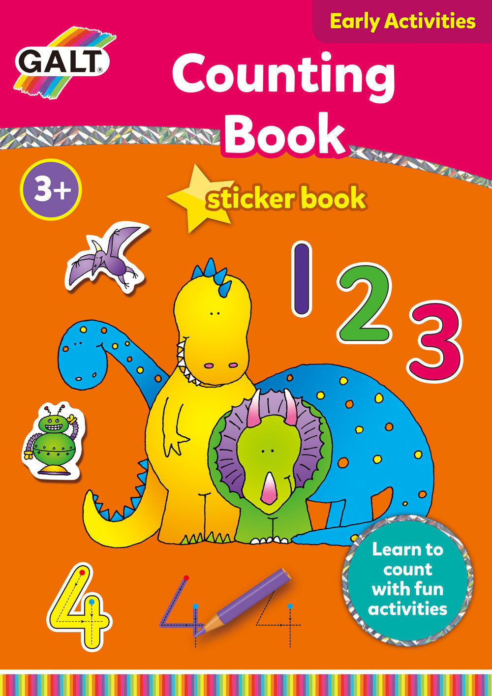 Counting Sticker Book - by Galt image