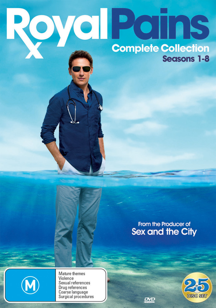 Royal Pains - Complete Collection (Season 1-8) on DVD image