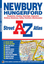 Newbury Street Atlas by Geographers A-Z Map Company