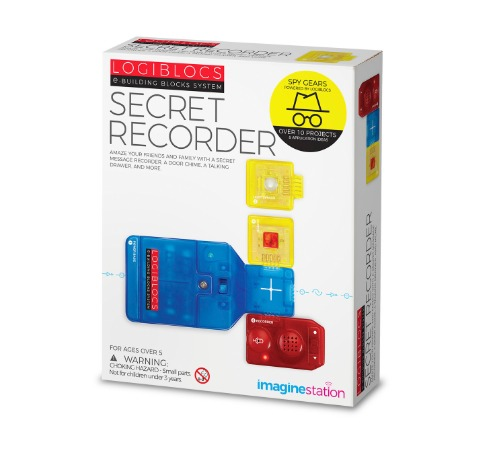 Logiblocs: Secret Recorder - Electronics Kit