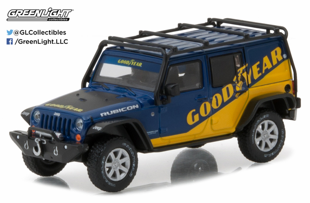 1/43: 2016 Jeep Wrangler Unlimited - Diecast Model