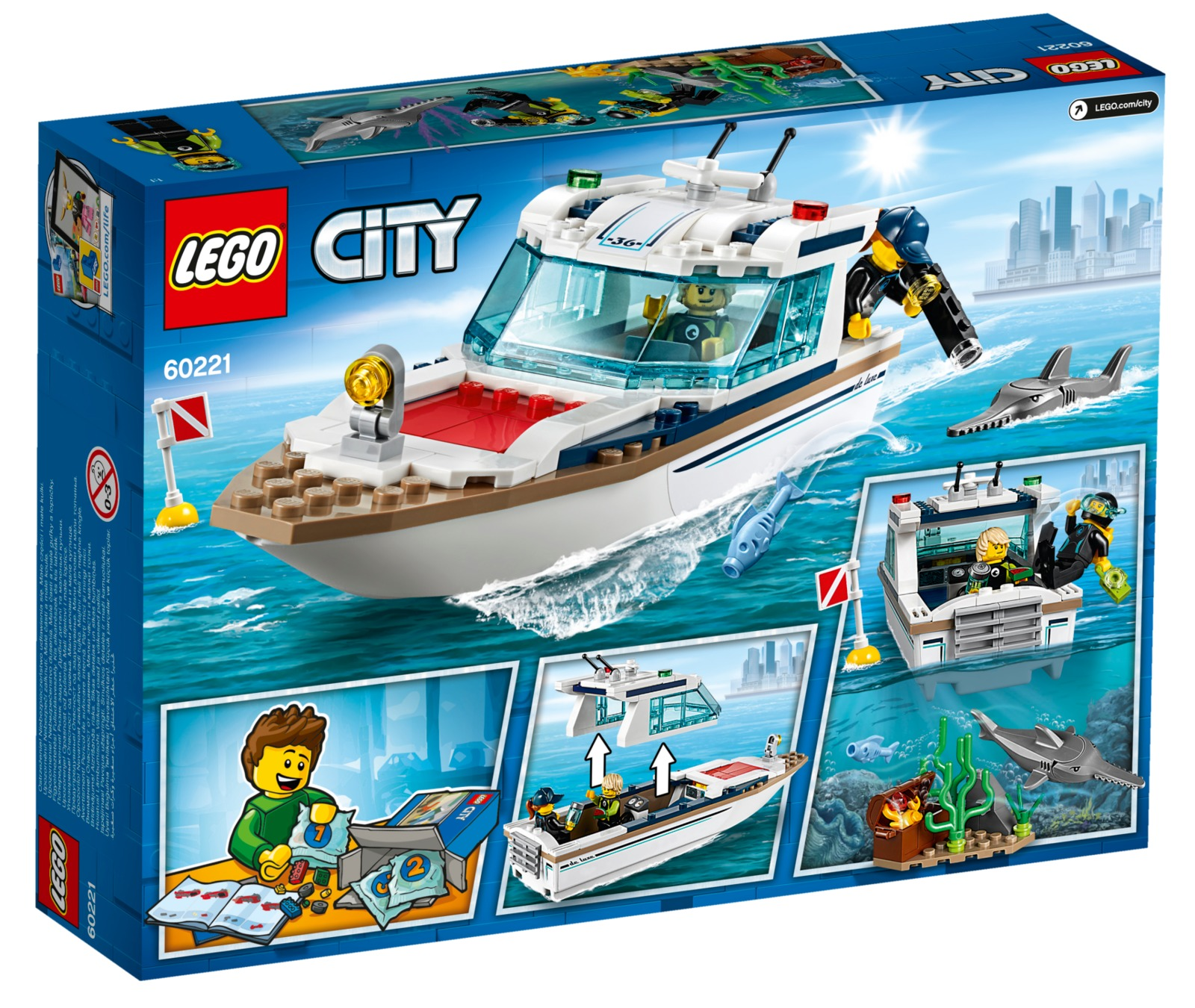 LEGO City: Diving Yacht (60221) image