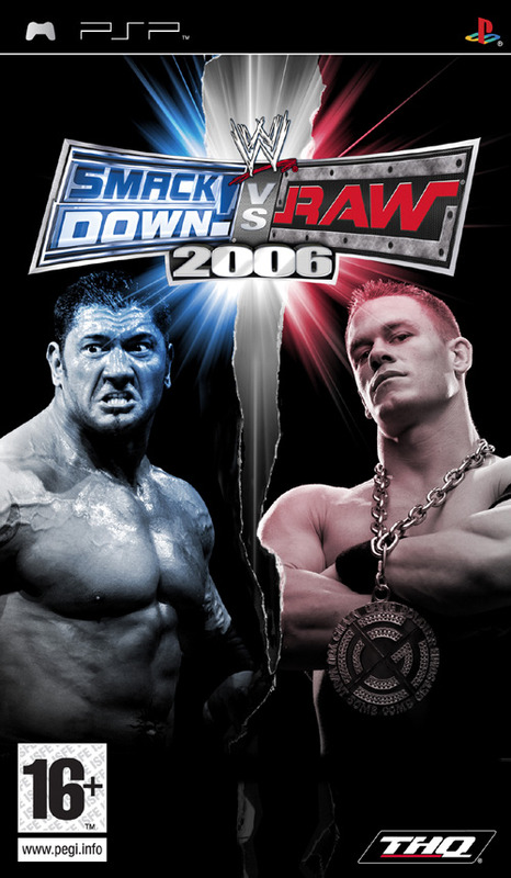WWE SmackDown! Vs. RAW 2006 for PSP