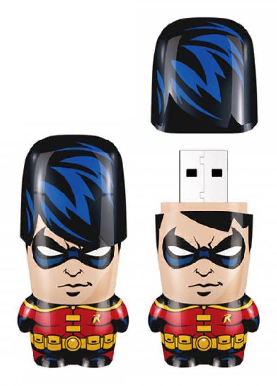 8GB Batman - Robin Mimobot USB Flash Drive
