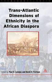 The Transatlantic Dimensions of Ethnicity in the African Diaspora