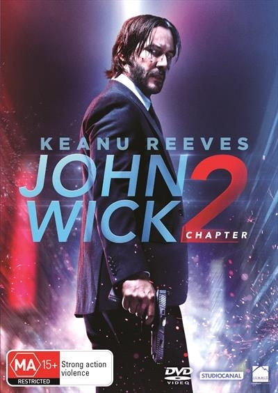 John Wick: Chapter 2 on DVD image