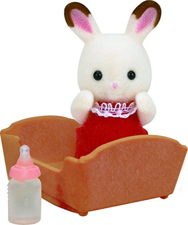Sylvanian Families: Chocolate Rabbit Baby image