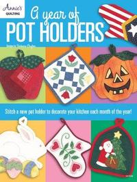 A Year of Pot Holders by Barbara Clayton image