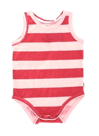 Bonds Tank Teesuit - Pomegranate Pop (6-12 Months)
