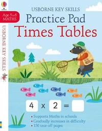 Times Tables Practice Pad 5-6 by Sam Smith