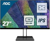 "27"" AOC 1920x1080 IPS 75Hz Freesync Ultra Slim Monitor image"