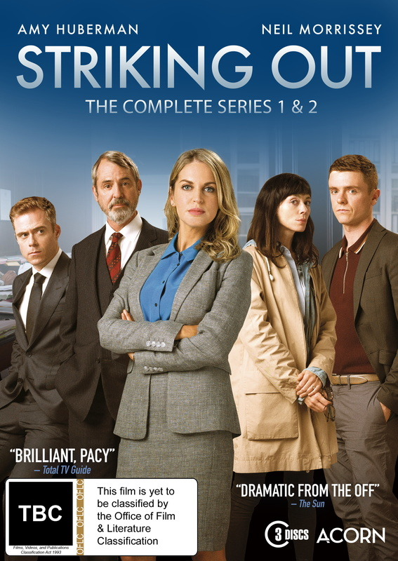 Striking Out - Series 1-2 on DVD