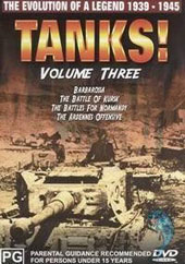 Tanks Vol 3 on DVD