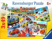 Ravensburger 3x49 Piece Jigsaw Puzzles - Moving Vehicles