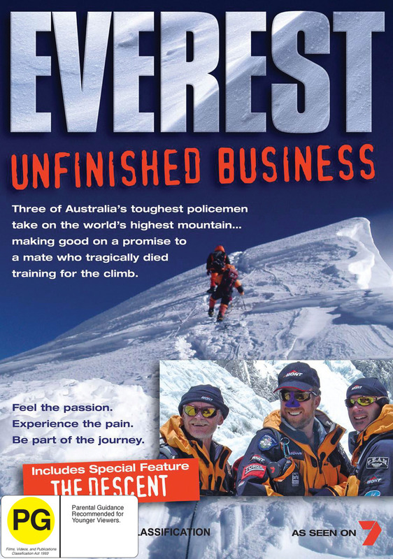 Everest - Unfinished Business on DVD