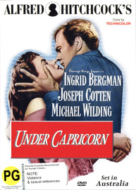 Alfred Hitchcock's Under Capricorn on DVD
