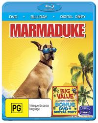 Marmaduke on DVD, Blu-ray