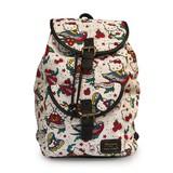 Hello Kitty Tattoo Canvas Backpack