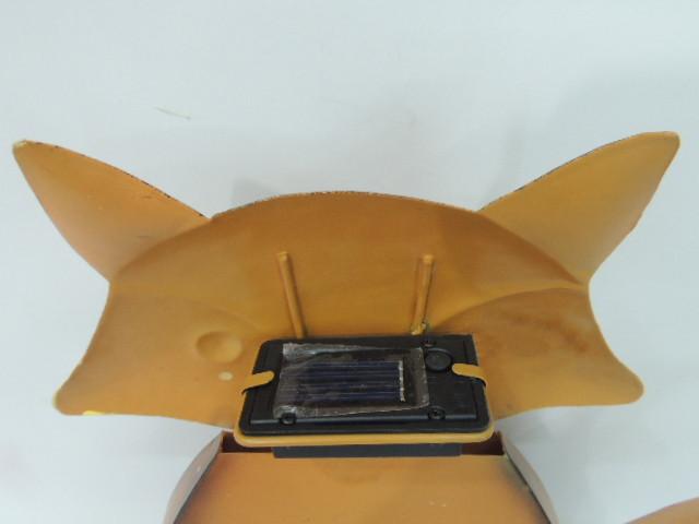 Darlin Solar LED Garden Ornament - Fox image