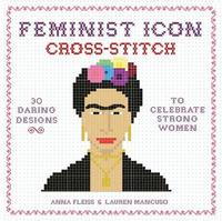 Feminist Icon Cross-Stitch by Anna Fleiss