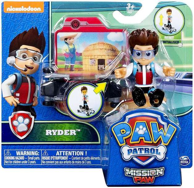 Paw Patrol: Hero Action Pup - Mission Paw Ryder