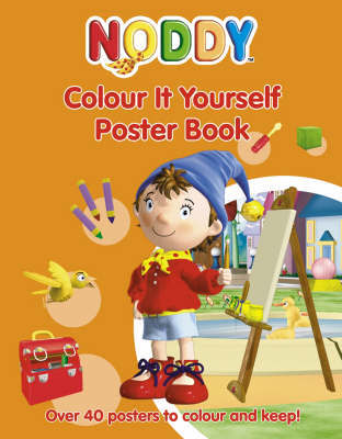Noddy Colour it Yourself Poster Book by Enid Blyton image