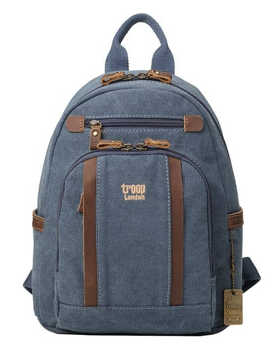 Troop London: Classic Small Backpack - Blue