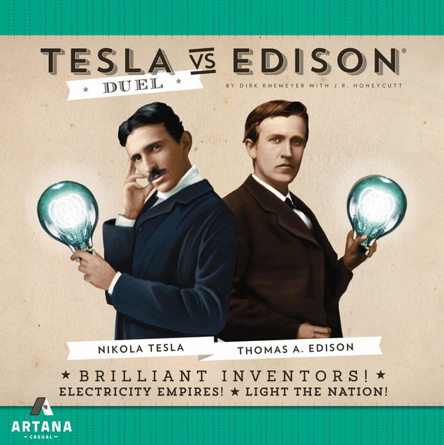 Tesla vs Edison: Duel - Board Game
