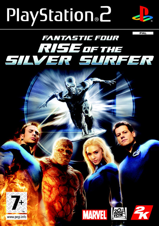 Fantastic 4: Rise of the Silver Surfer for PlayStation 2