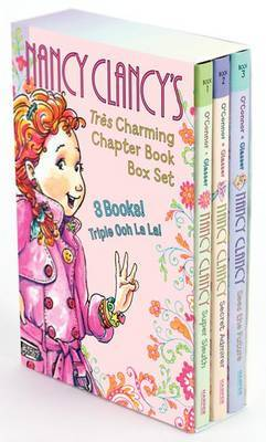 Fancy Nancy Nancy Clancy S Tres Charming Chapter Book Box Set Jane O Connor Book Buy Now At Mighty Ape Nz