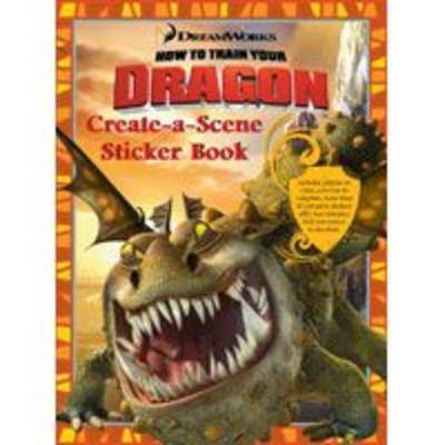 How to Train Your Dragon Create-a-Scene Sticker Book