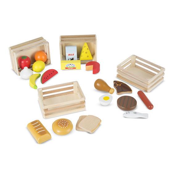 Melissa & Doug: Food Groups Set Wooden image