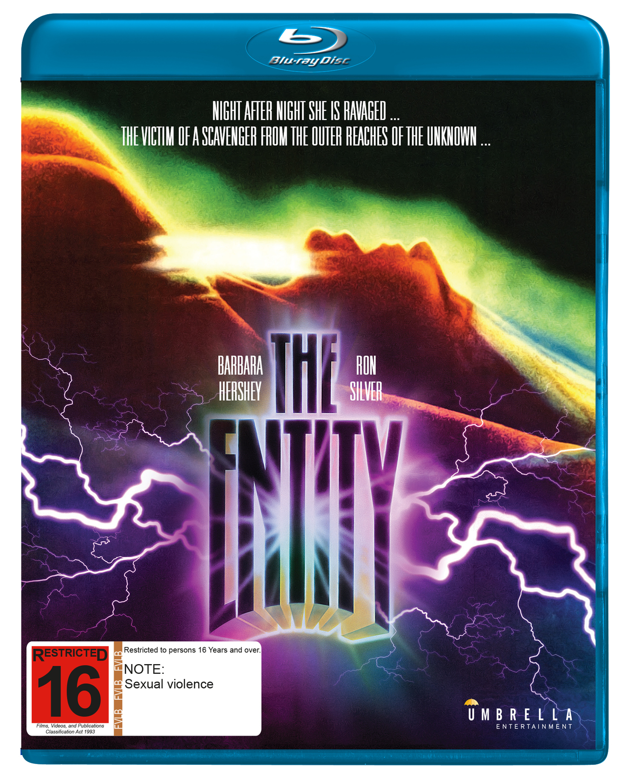 The Entity on Blu-ray image