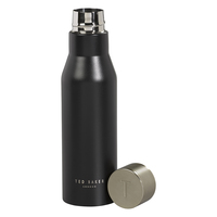 Ted Baker Stainless Steel Water Bottle (Black Onyx)